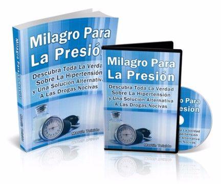 Milagro para la presión libro