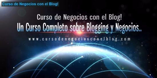 Curso de Negocios con el Blog