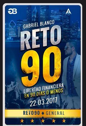 RETO 90 por Gabriel Blanco